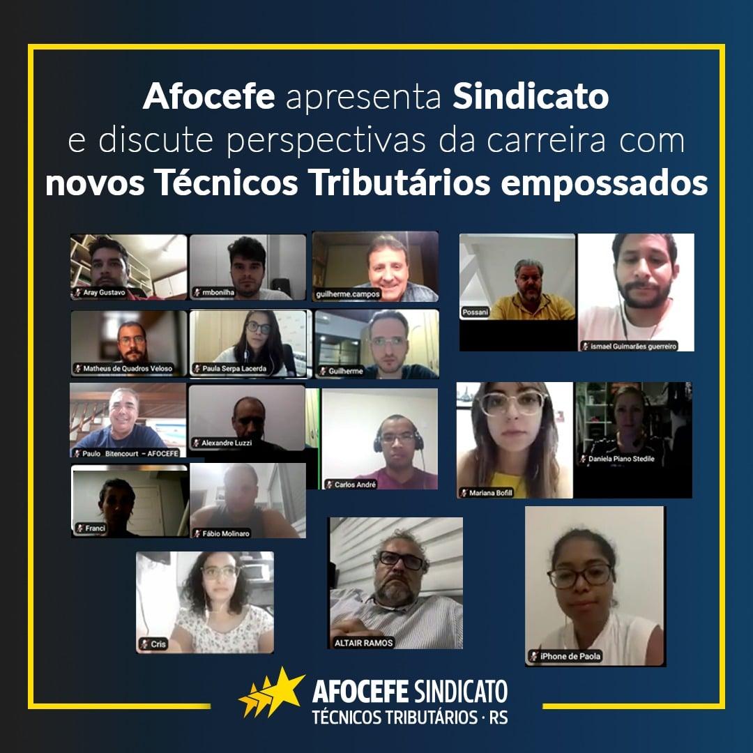 Afocefe apresenta Sindicato e discute perspectivas da carreira com novos Técnicos Tributários empossados